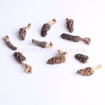 Picture of Dried Mini Morels (miniature), 250 gm [8.82 oz]